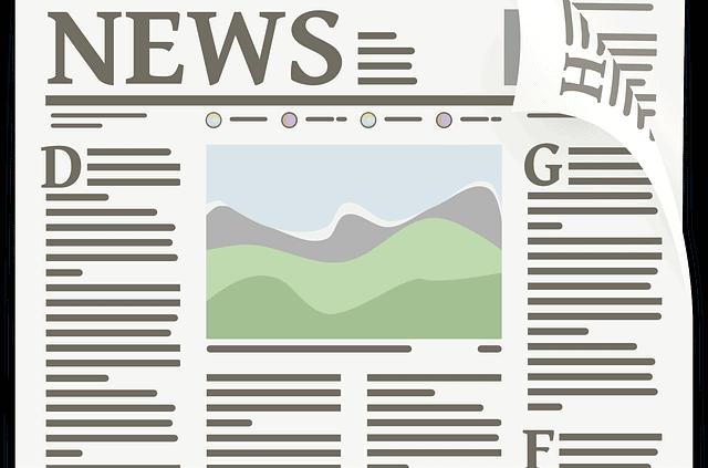 newspaper-zeitung-schematisch-dargestellt