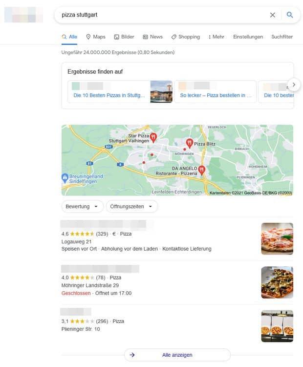serps-screenshot-local-snippet-keyword-pizza-stuttgart
